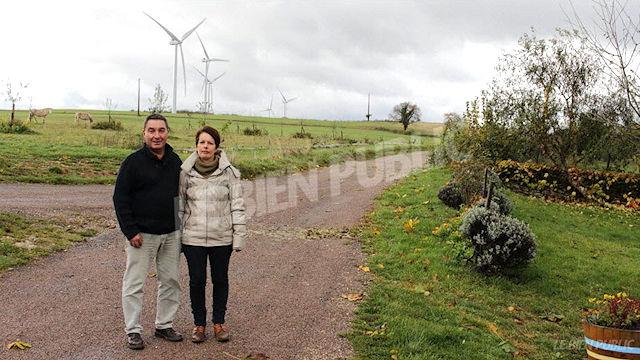 Les éoliennes ont bouleversé leur quotidien
