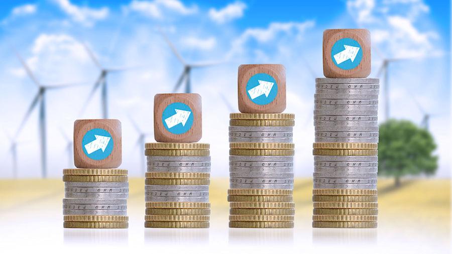 Prix de l'électricité éolienne