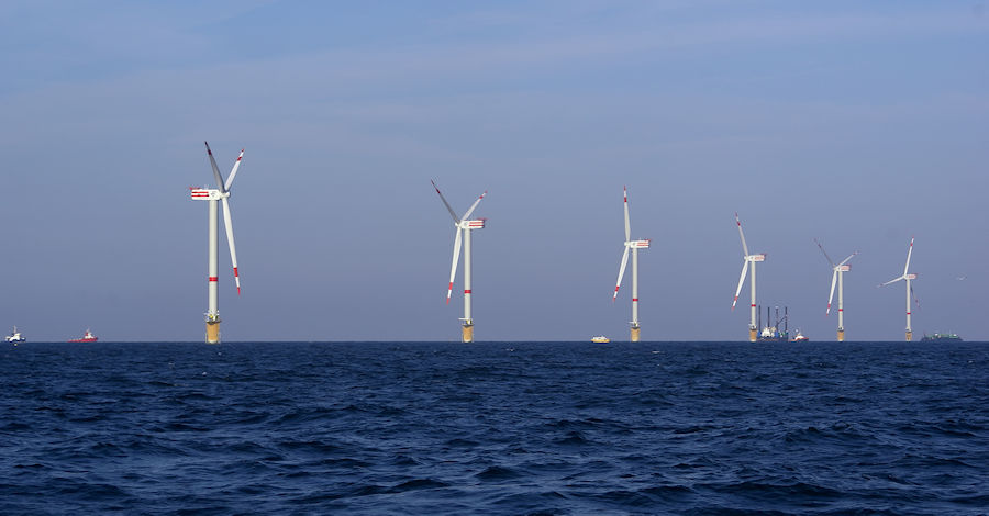 Éoliennes offshore de Thornton Bank